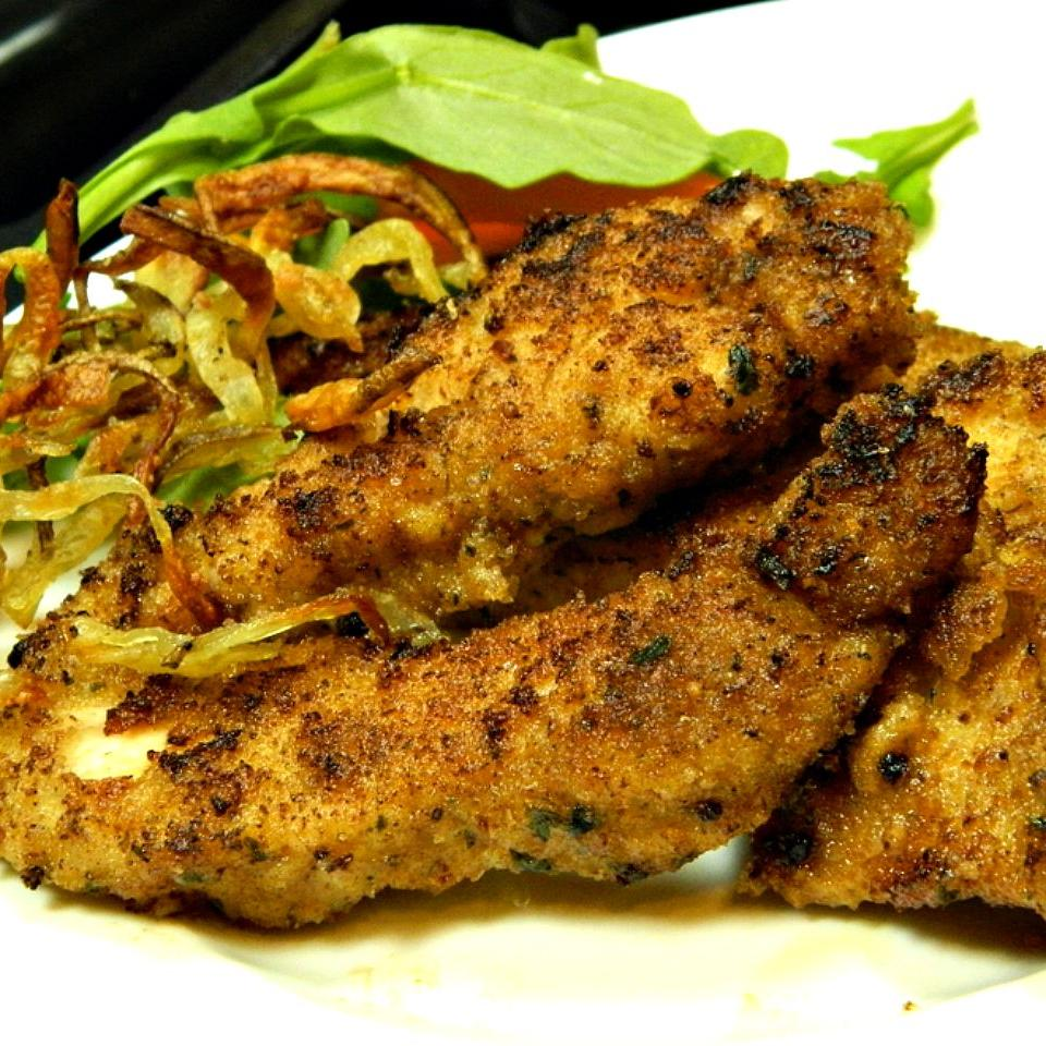 Amazingly Tasty and Crispy Chicken Schnitzel Marianne
