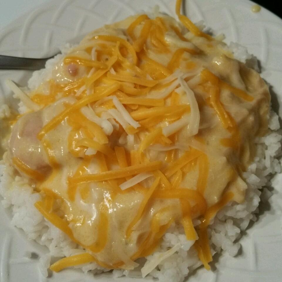 Slow Cooker Dump and Go Cheesy Chicken Amber Head
