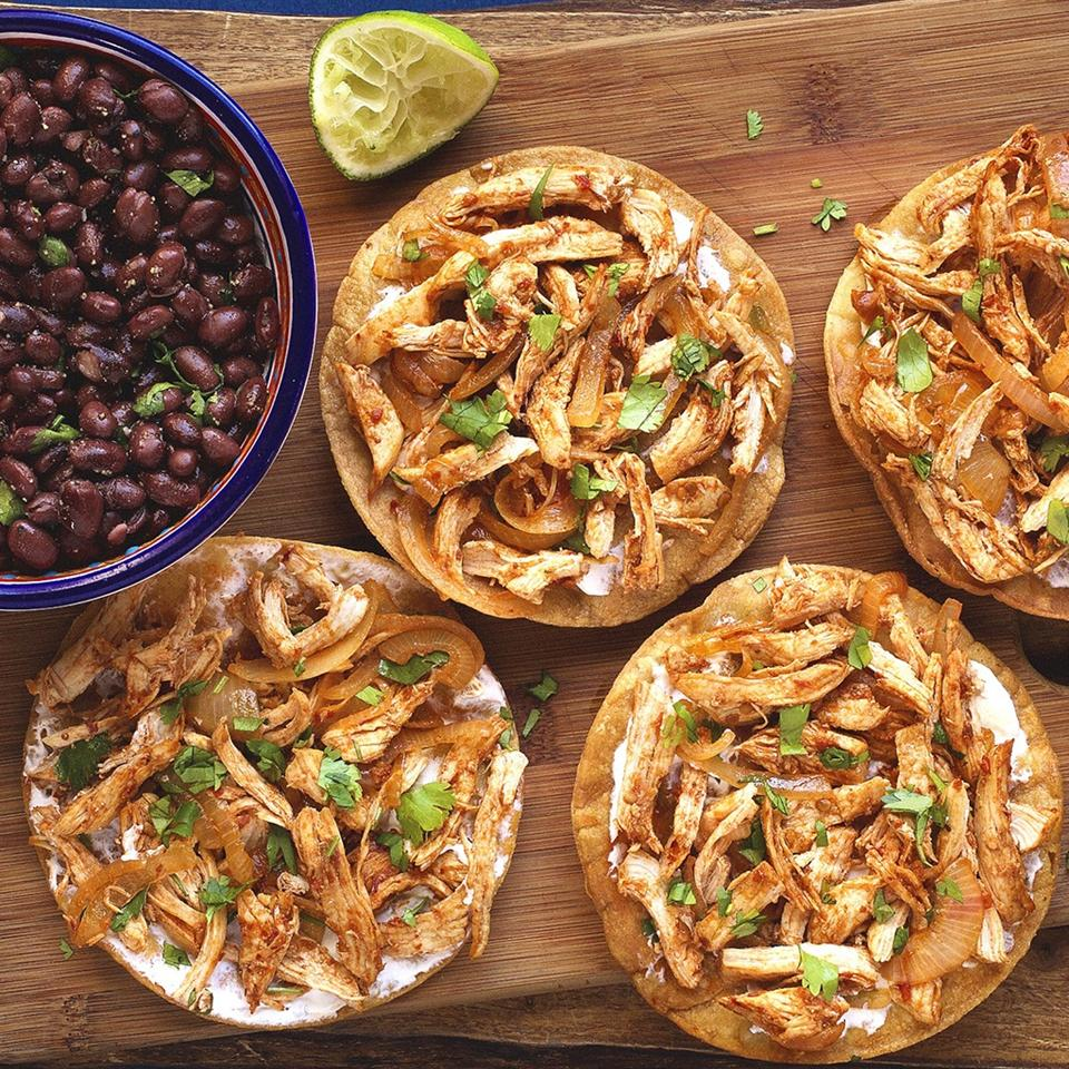 Chicken Tinga Tostados NANCHE30