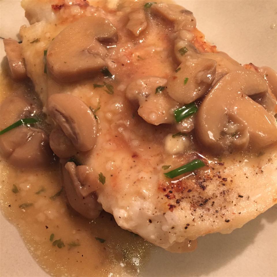 Chicken and Mushroom Saute kard222