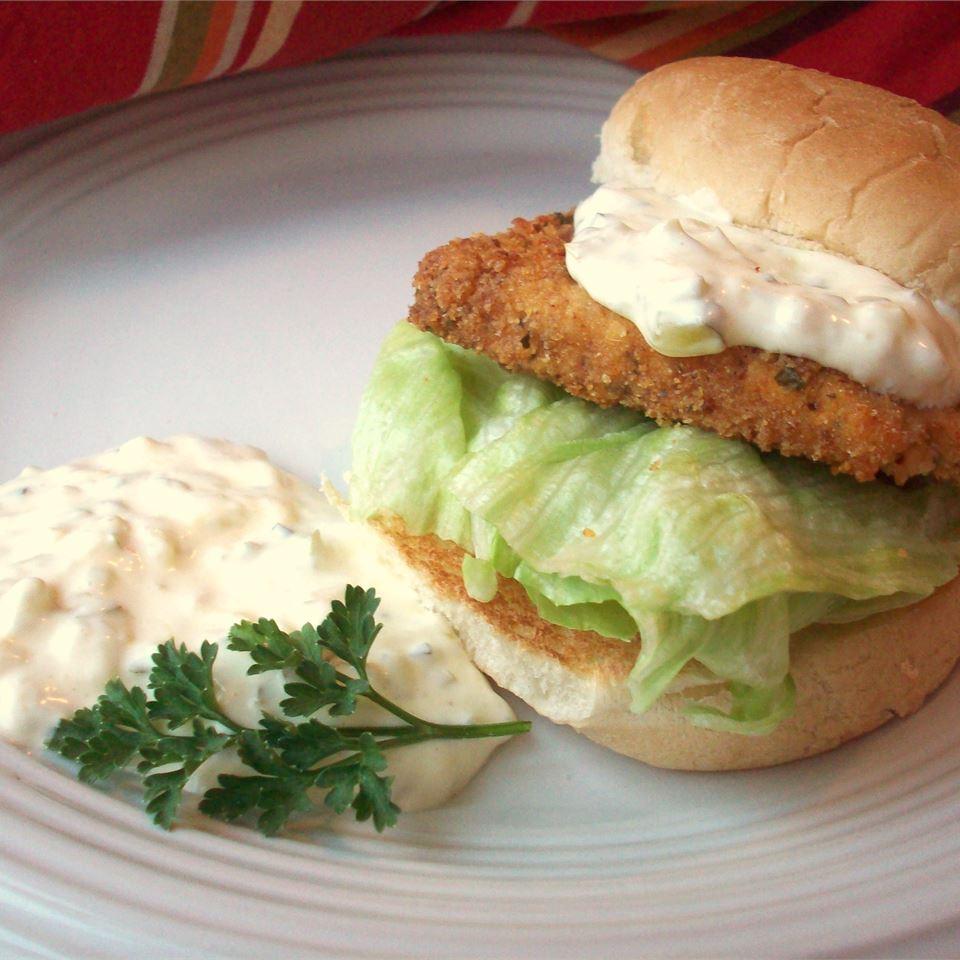 Tofu 'Fish' Fillet Sandwiches CookinBug