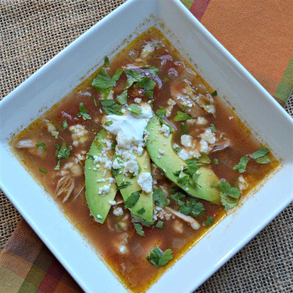 Aunt Kathy's Tortilla Soup Melissa S.