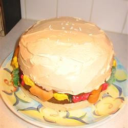 Stupendous Hamburger Cake Allrecipes Funny Birthday Cards Online Inifofree Goldxyz