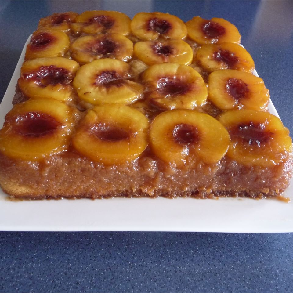 Peach Upside Down Cake I