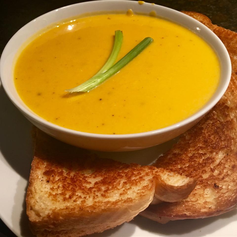 Delicata Creamy Squash Soup