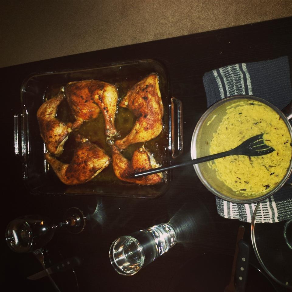 Perfect Baked Jerk Chicken