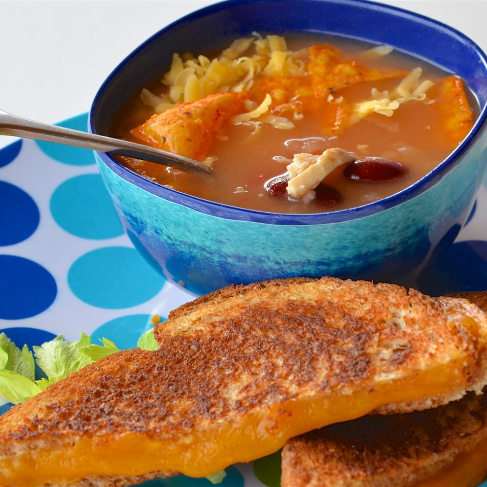 PAM's Spicy Slow Cooker Chicken Tortilla Soup Lela