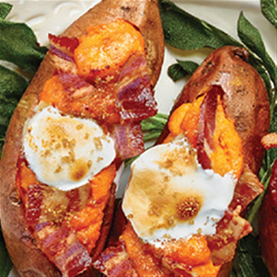 Twice Baked Sweet Potatoes from Smithfield®
