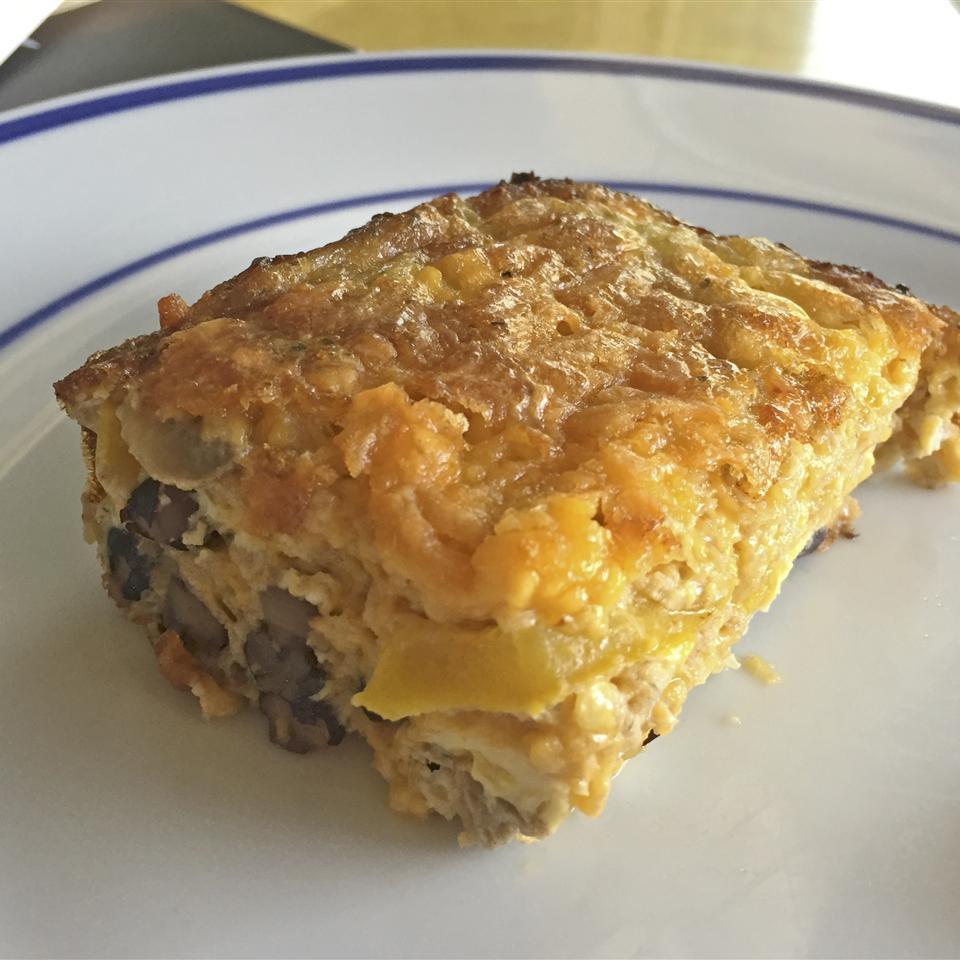 Cheesy Vegetarian Egg Bake LucyFitz46