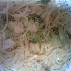Spaghetti with Broccoli and Chicken