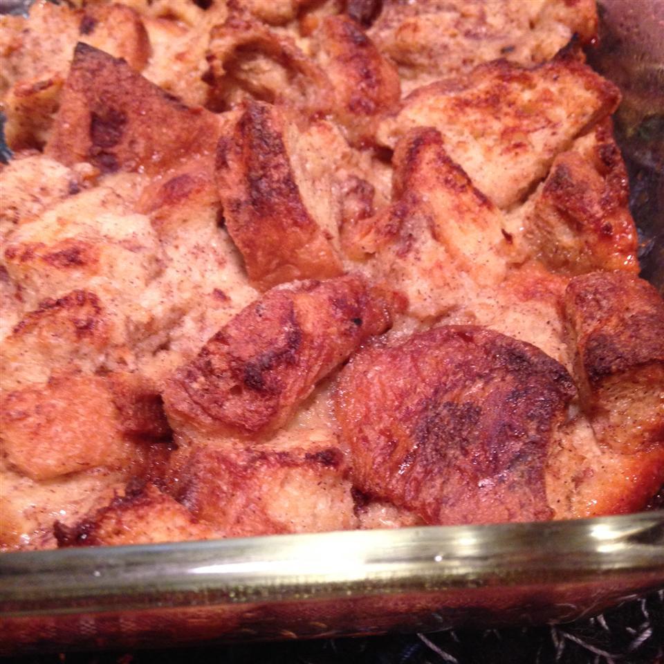 Apple-Raisin Breakfast Bread Pudding