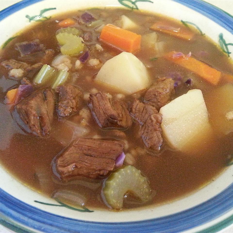 Beef and Barley Soup III_image