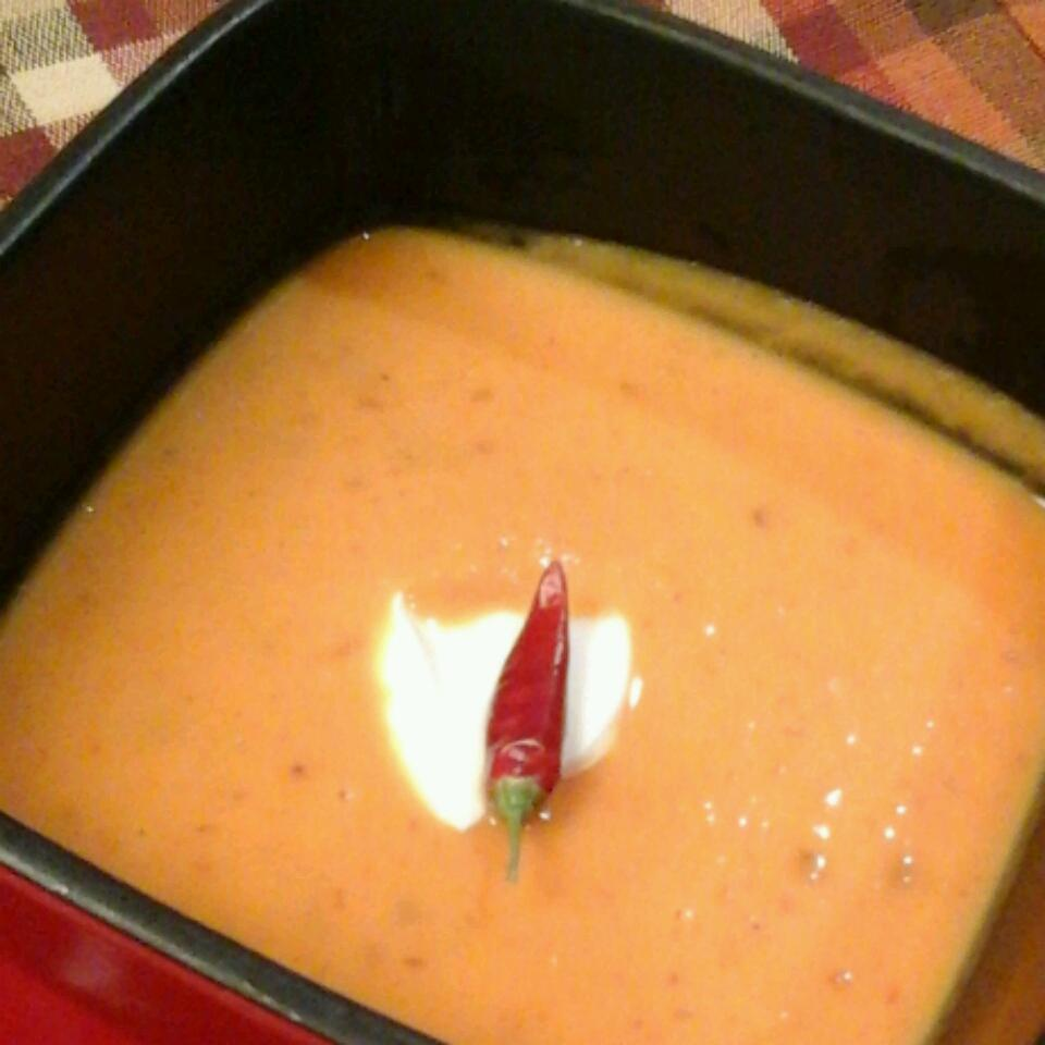 Spicy Chipotle Sweet Potato Soup