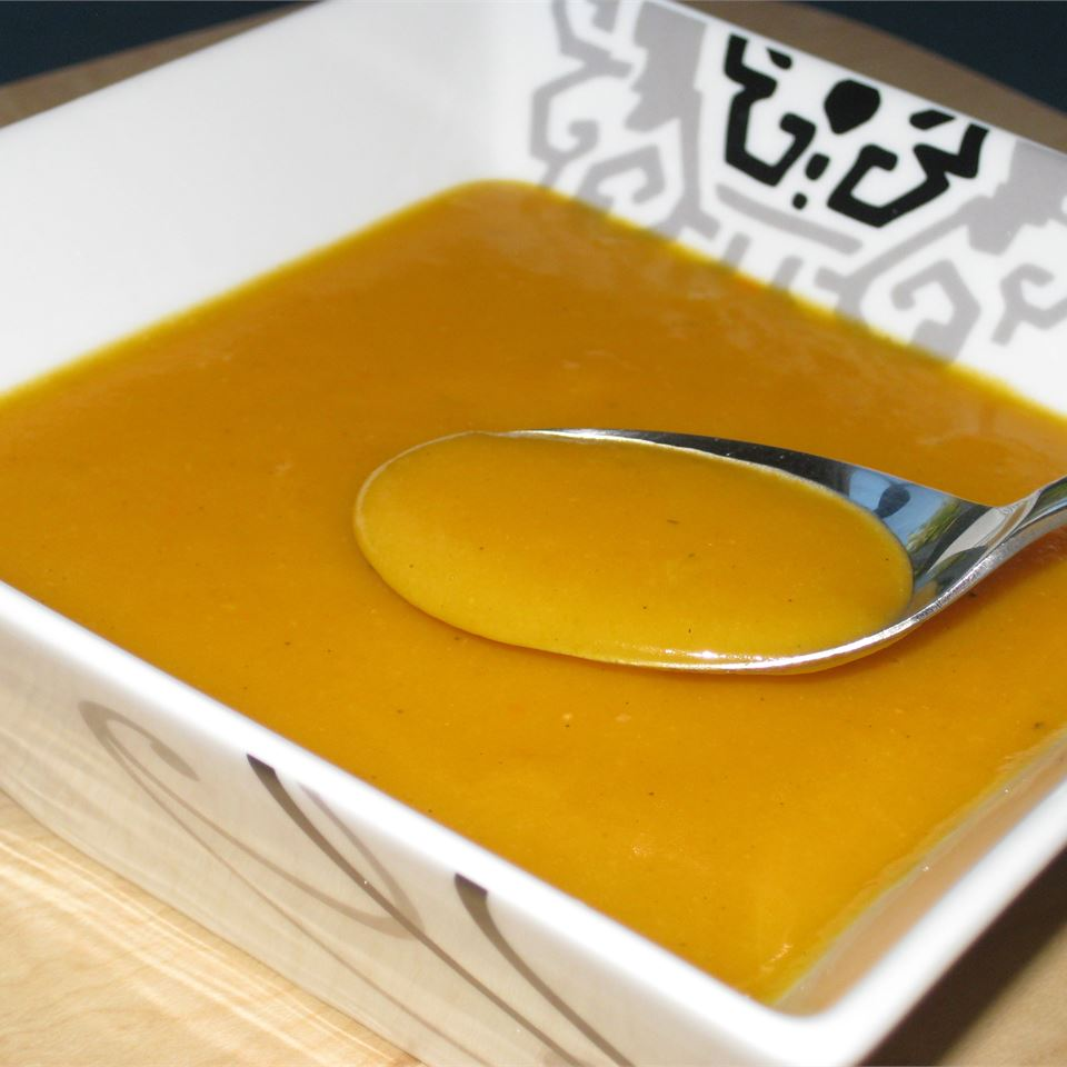 Carrot Soup with Potatoes and Cream Fit&Healthy Mom