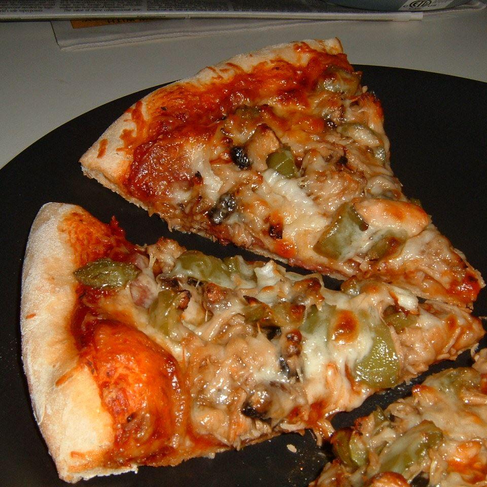 Jerk Chicken Pizza