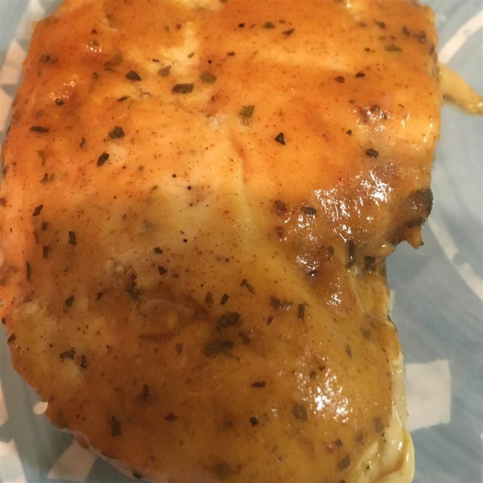 Sweet Mustard Chicken Bake