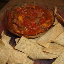 Eggplant Salsa and Homemade Pita Chips Mary Firdawsi