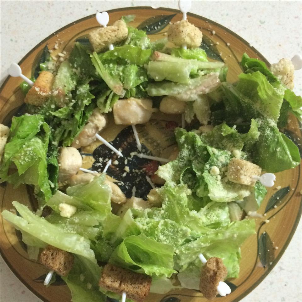 Chicken Caesar Salad on a Stick kkrich16