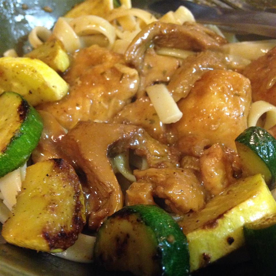 Chicken with Chanterelle Mushrooms and Marsala Wine Shanny Mahan