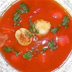 Cream of Tomato (Tofu) Linda Green