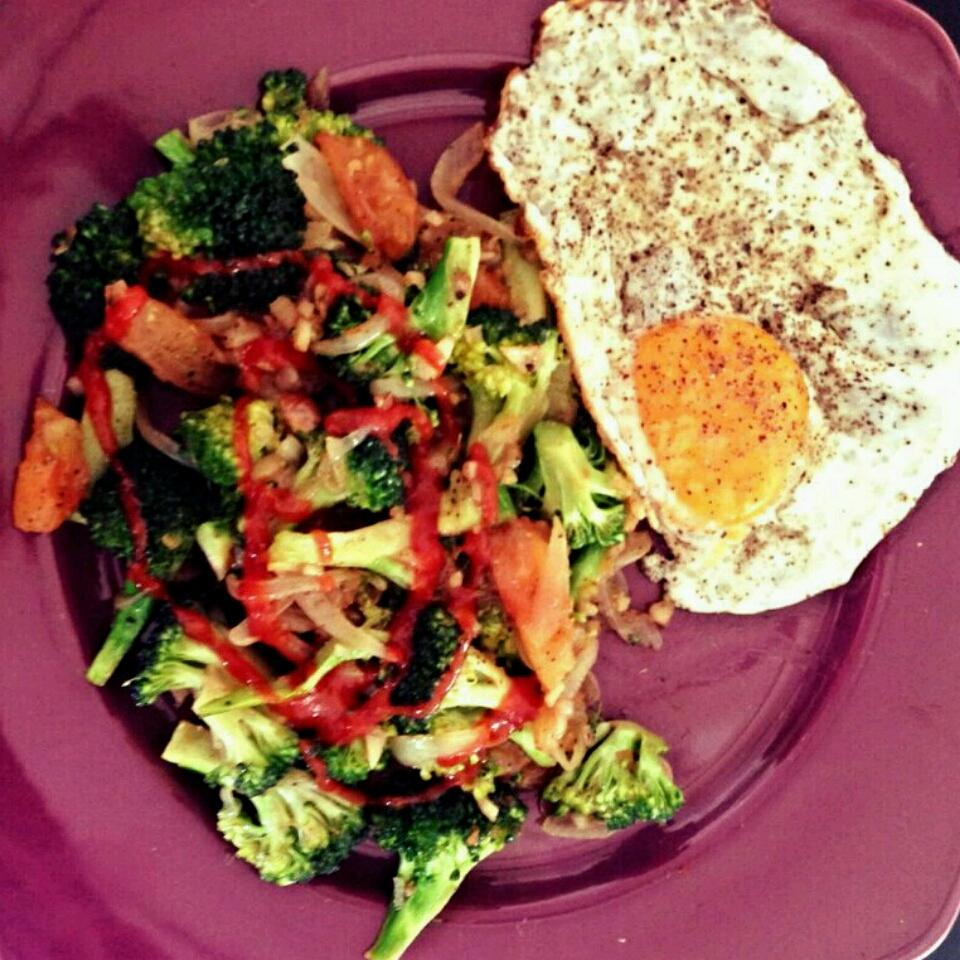 Fried Broccoli