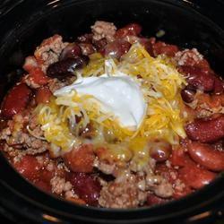 Ten Minute Chipotle Spiced Beef And Bean Chili Recipe Allrecipes