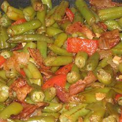 Creole Green Beans McBacon
