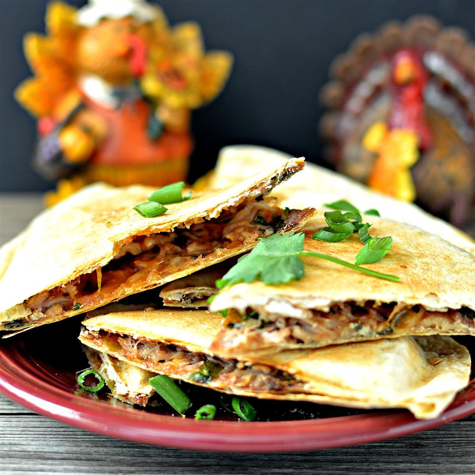 Thanksgiving Quesadilla