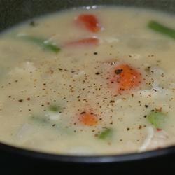 Creamy Chicken Vegetable Chowder maude s.