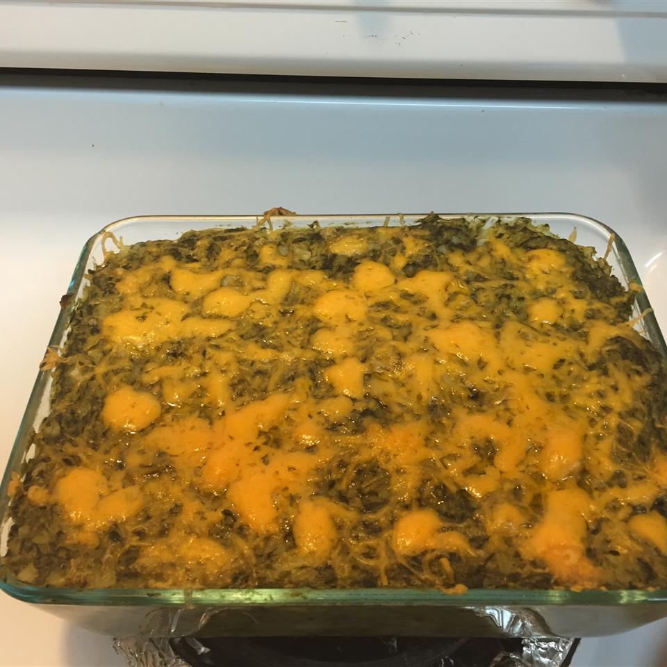Potato Spinach Casserole