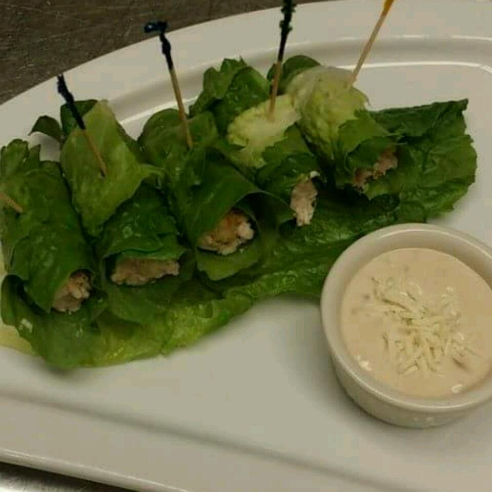 Chicken Caesar Salad on a Stick James Allen