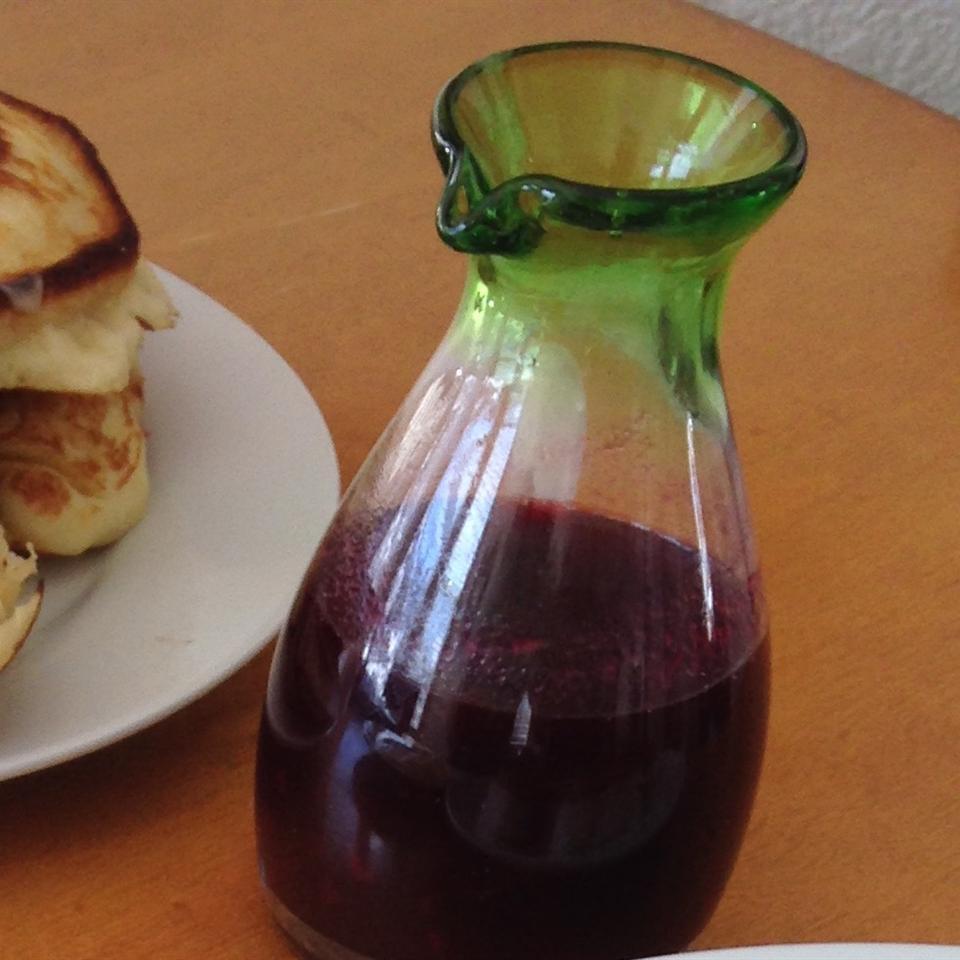 Spiced Pomegranate Syrup