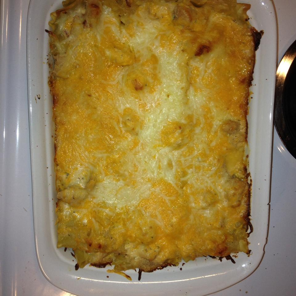 Julie's Cheesy Chicken Lasagna Cody Starman