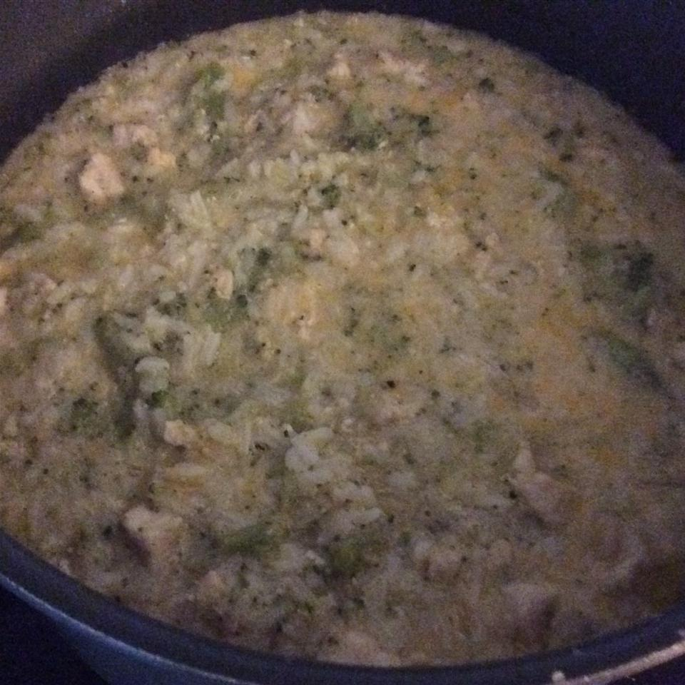 Cheese, Broccoli, and Chicken Soup