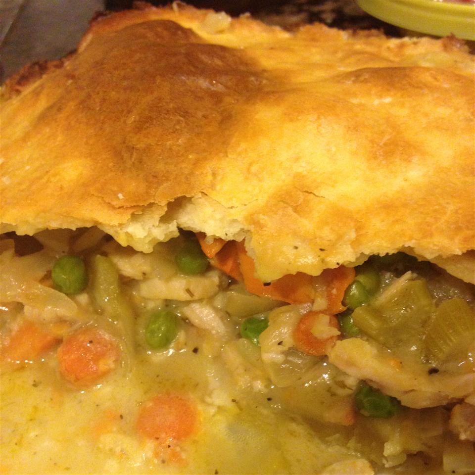 Turkey Pot Pie a la Kat Semichee