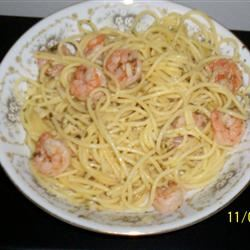 Garlic Shrimp Scampi Pasta