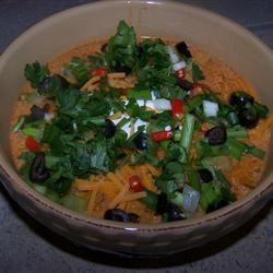Creamy Chorizo and Chicken Soup