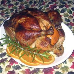 Orange Herb Roasted Chicken