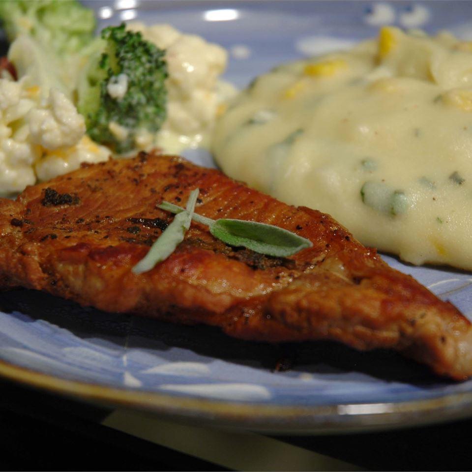 Sage Pork Chops Tiffany Nixon