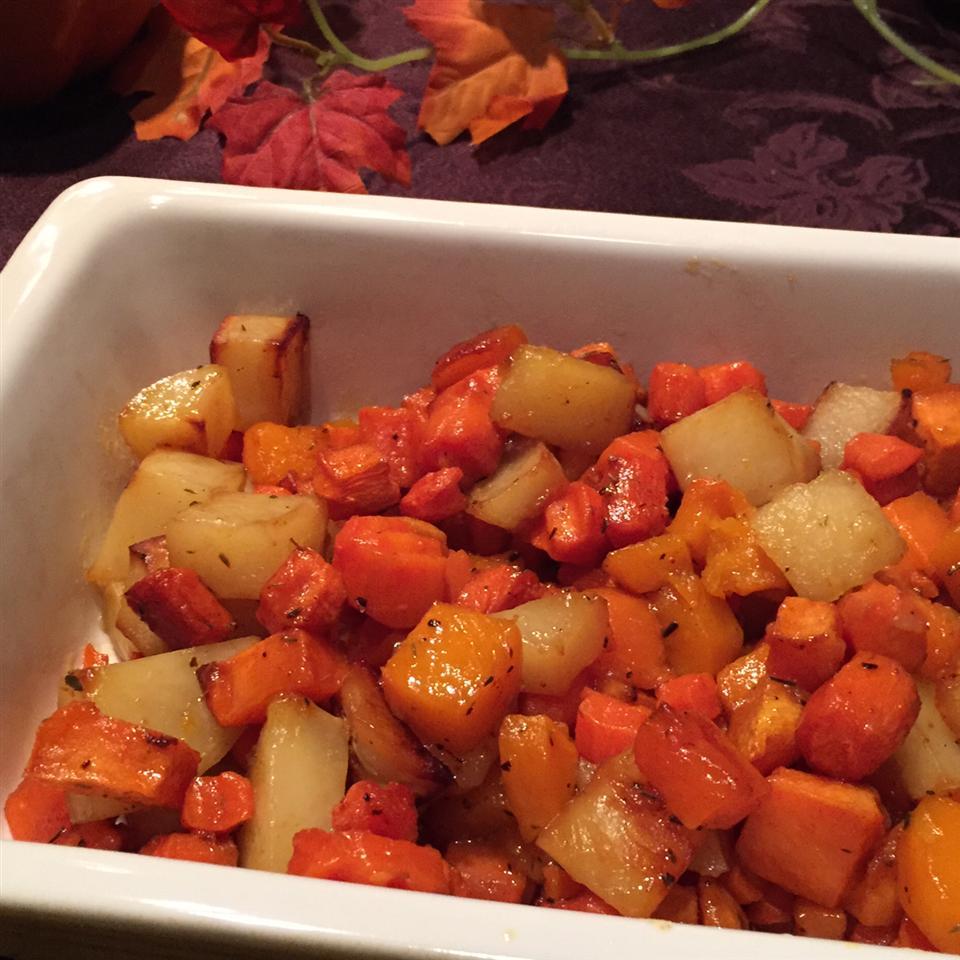 Sweet Roasted Autumn Root Vegetables Kelly Nagy Cramer
