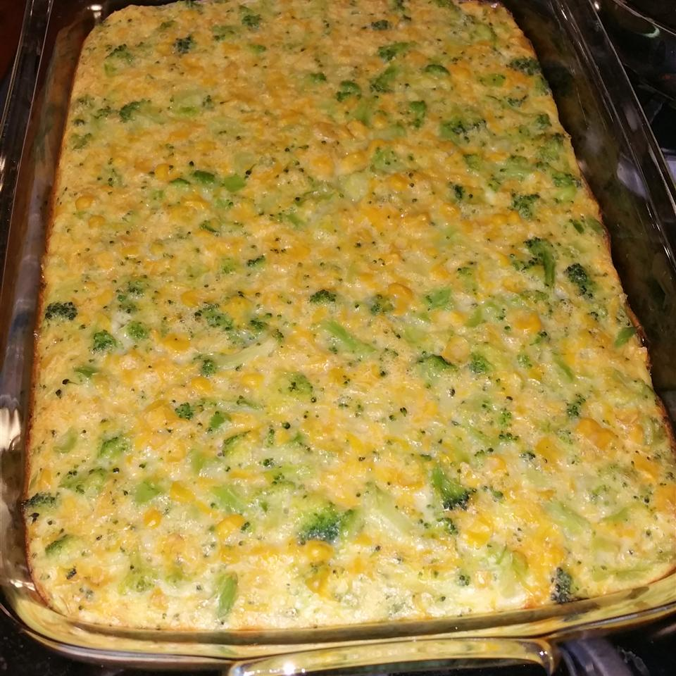 Scalloped Corn and Broccoli