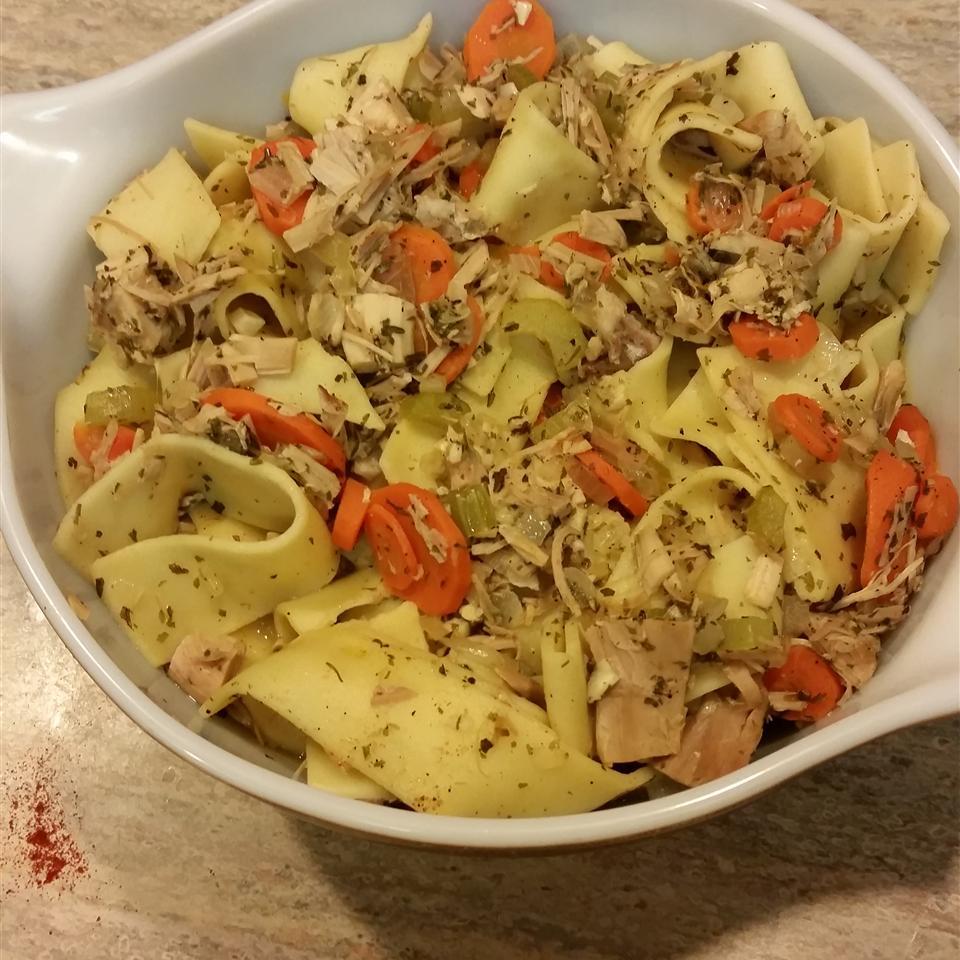 No-Fuss Turkey Noodle Soup