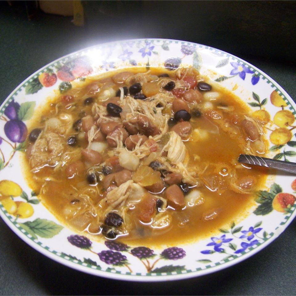 Tortilla and Bean Soup Texasfairbaker