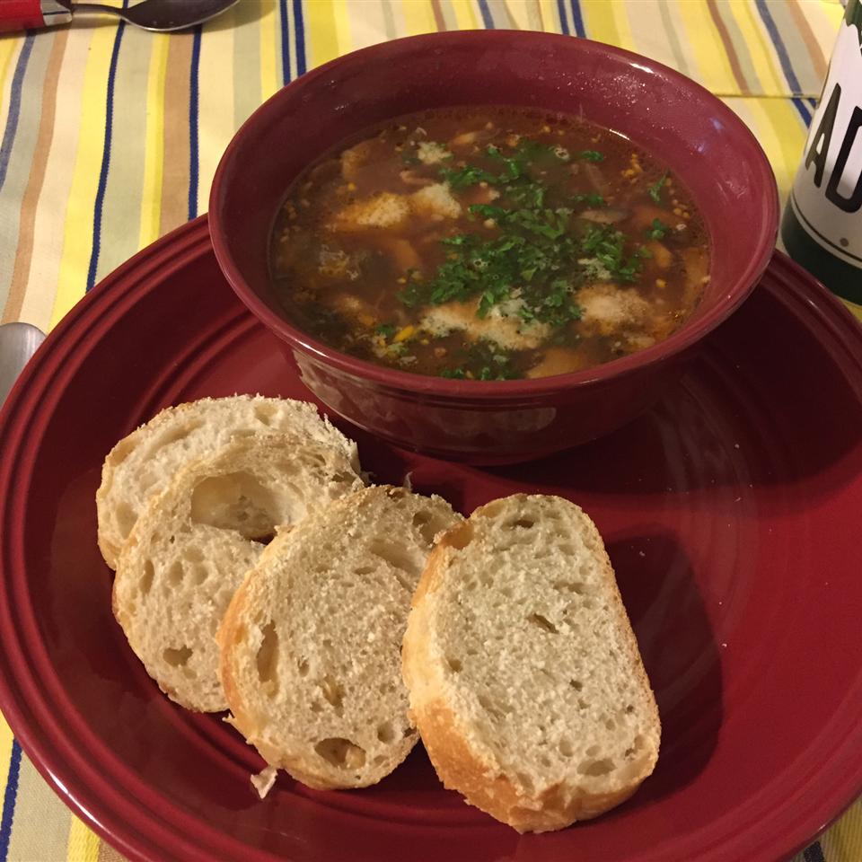 Tomato-Mushroom Soup Brandon McCune