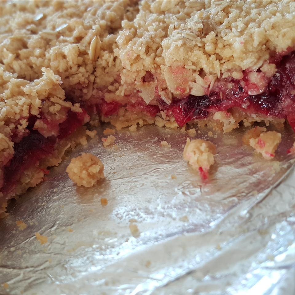 Cranberry Oat Bars image