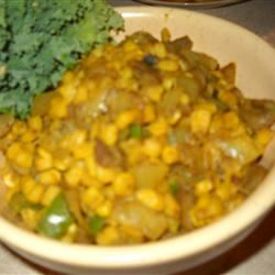 Sauteed Curried Corn N Morski
