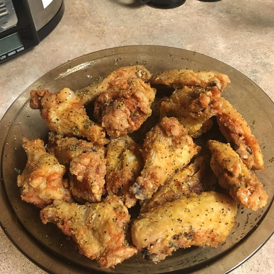 Easy Lemon Pepper Chicken Wings FleurSweetLoves