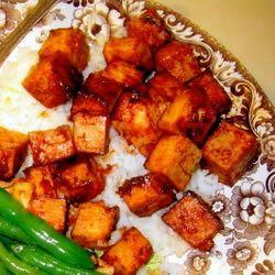 Marinated Tofu chazzychaz