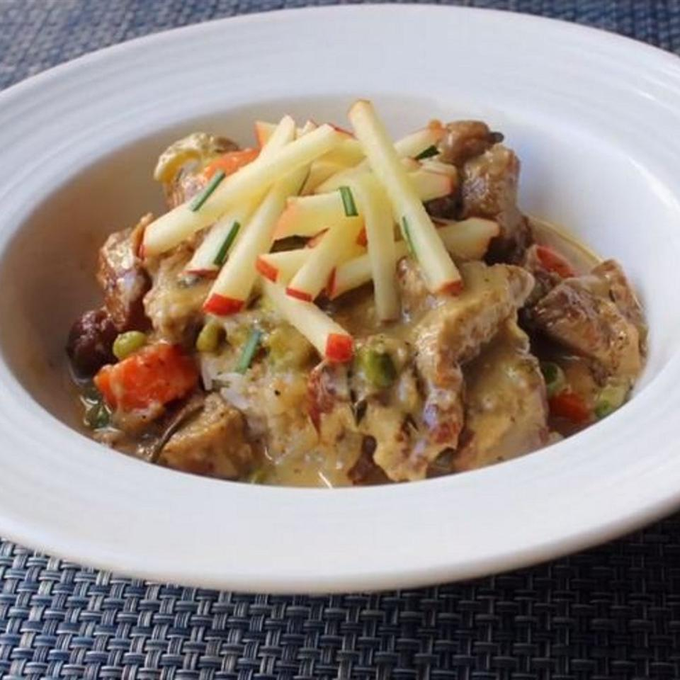 Creamy Pork Stew