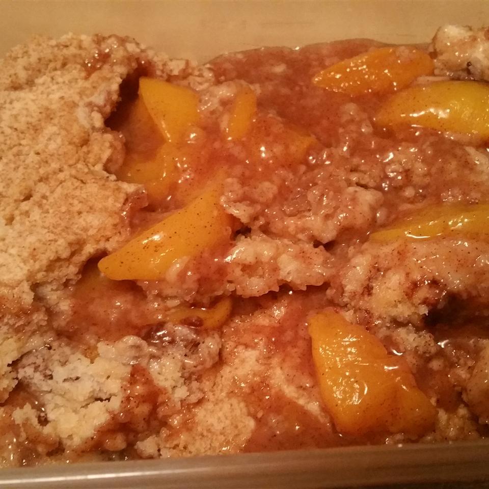 Easy Stovetop Peach Cobbler